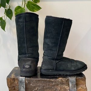 UGG black tall boot